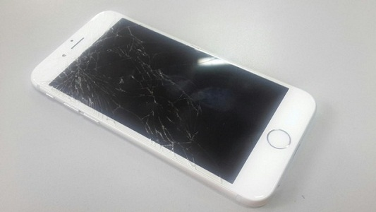 Cracked-screen